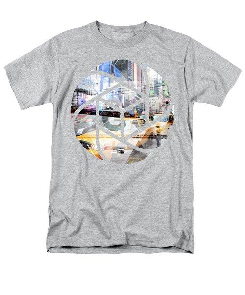 Trendy Design Nyc Geometric Mix No 9 Men's T-Shirt  (Regular Fit)