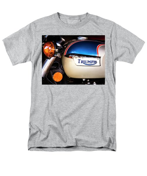 Triumph Motorcyle Men's T-Shirt  (Regular Fit) by Andy Crawford