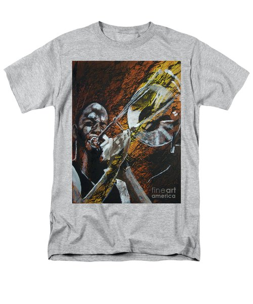 Trombone Shorty Men's T-Shirt  (Regular Fit) by Stuart Engel