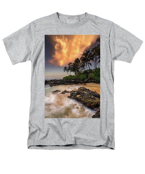 Tropical Nuclear Sunrise Men's T-Shirt  (Regular Fit) by Pierre Leclerc Photography
