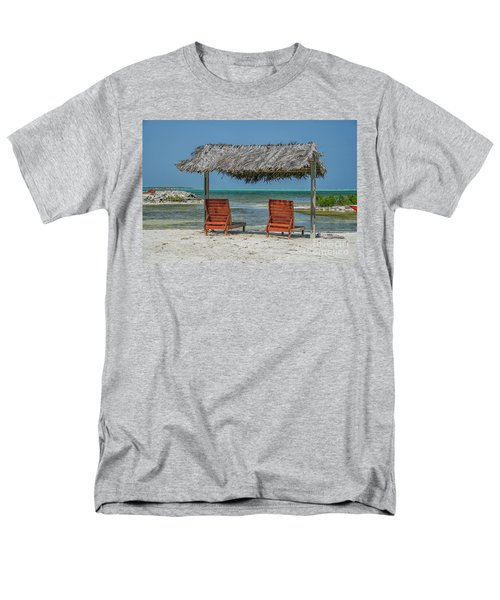 Tropical Vacation Men's T-Shirt  (Regular Fit) by Patricia Hofmeester