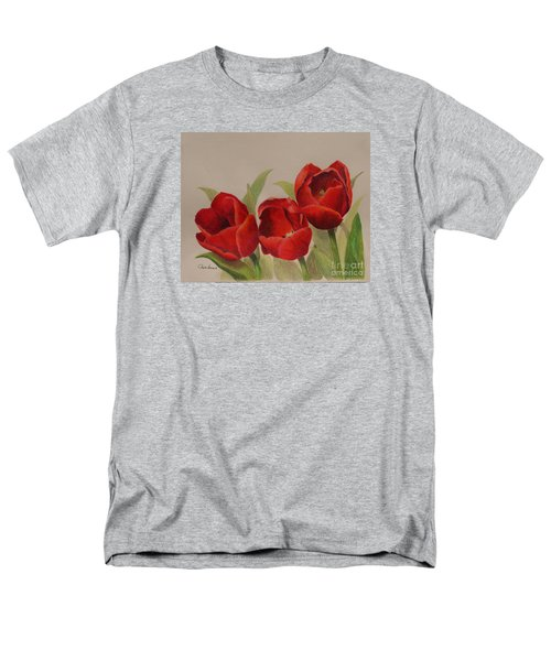 Tulip Trio Men's T-Shirt  (Regular Fit) by Phyllis Howard