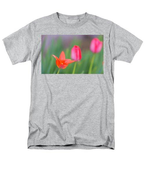 Tulips In My Garden Men's T-Shirt  (Regular Fit) by Rainer Kersten