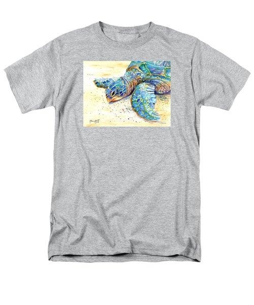 Turtle At Poipu Beach 4 Men's T-Shirt  (Regular Fit)