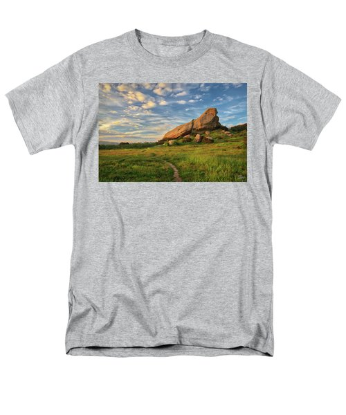 Turtle Rock At Sunset Men's T-Shirt  (Regular Fit) by Endre Balogh