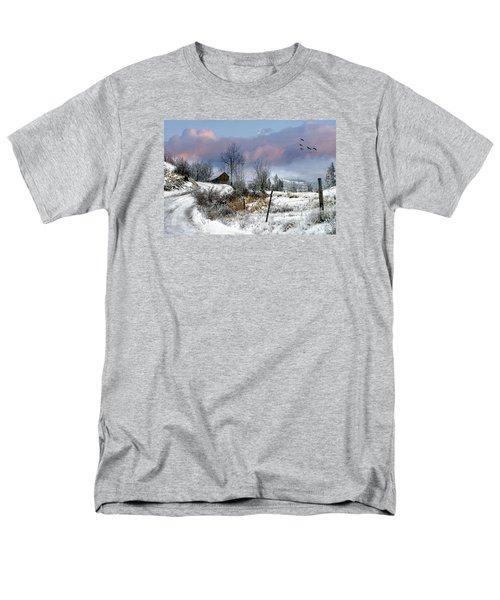 Twain's Barn Men's T-Shirt  (Regular Fit) by Ed Hall