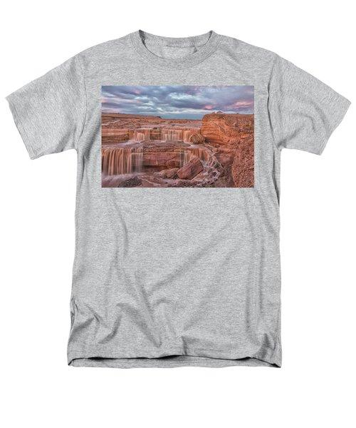 Twilight At Chocolate Falls Men's T-Shirt  (Regular Fit) by Tom Kelly