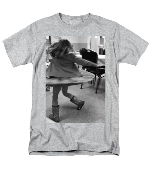 Twirling Girl  Men's T-Shirt  (Regular Fit) by Mary Ward