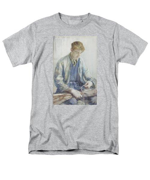 Tying The Sail Men's T-Shirt  (Regular Fit) by Henry Scott Tuke