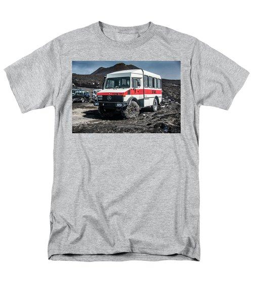 Unimog On Mt. Etna Men's T-Shirt  (Regular Fit) by Patrick Boening