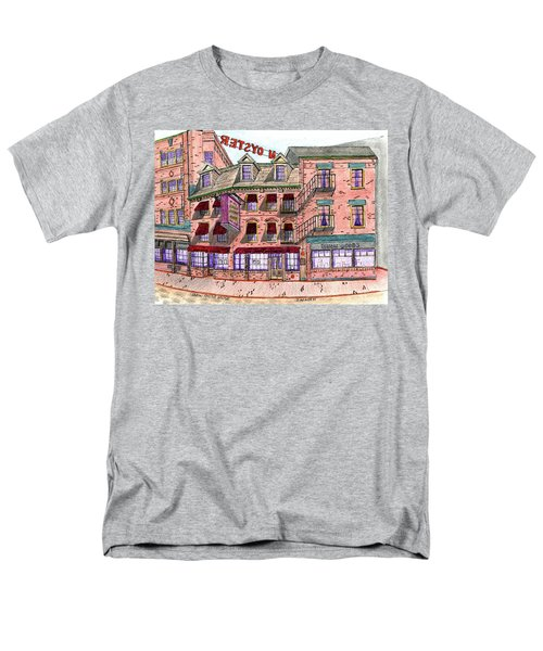 Union Osyter House Boston Men's T-Shirt  (Regular Fit) by Paul Meinerth