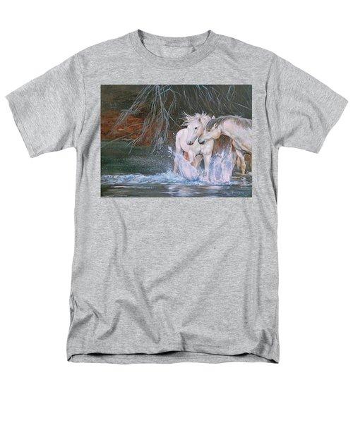 Unspoken Persuasion Men's T-Shirt  (Regular Fit) by Karen Kennedy Chatham