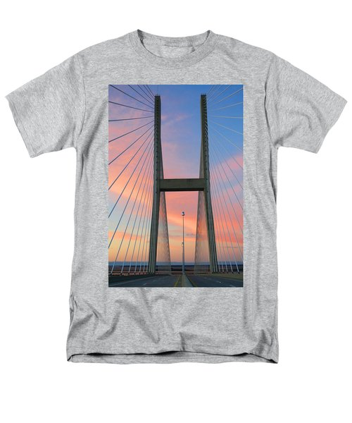 Up On The Bridge Men's T-Shirt  (Regular Fit) by Kathryn Meyer