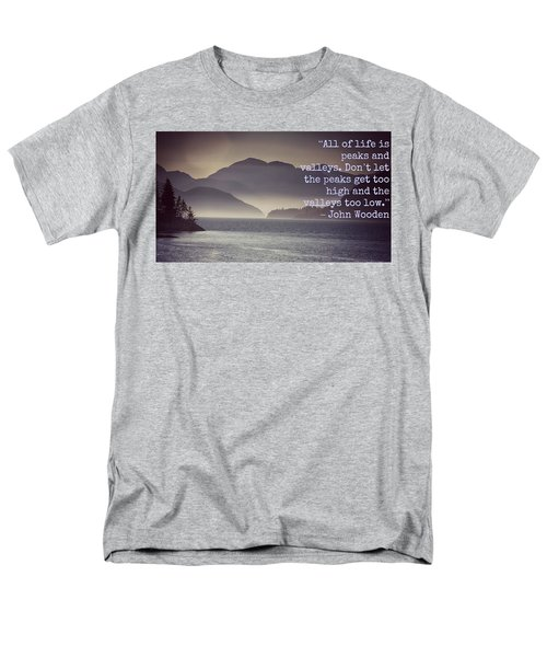 Uplifting244 Men's T-Shirt  (Regular Fit) by David Norman