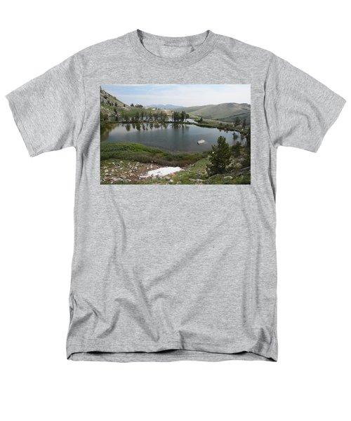 Men's T-Shirt  (Regular Fit) featuring the photograph Upper Hidden Lake by Jenessa Rahn