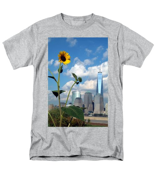 Men's T-Shirt  (Regular Fit) featuring the photograph Urban Contrast by Michael Dorn