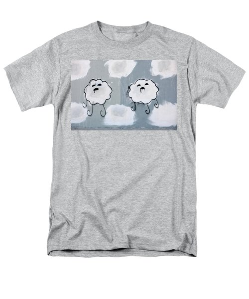 Men's T-Shirt  (Regular Fit) featuring the photograph Urban Rain Clouds by Art Block Collections