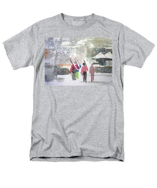 Vail,colorado  Men's T-Shirt  (Regular Fit) by Ed Heaton