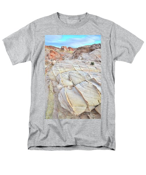 Valley Of Fire Sandstone Men's T-Shirt  (Regular Fit) by Ray Mathis