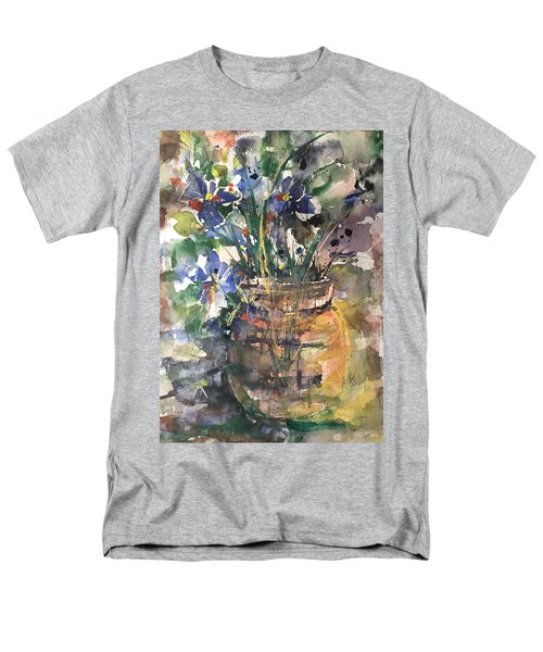 Vase Of Many Colors Men's T-Shirt  (Regular Fit) by Robin Miller-Bookhout