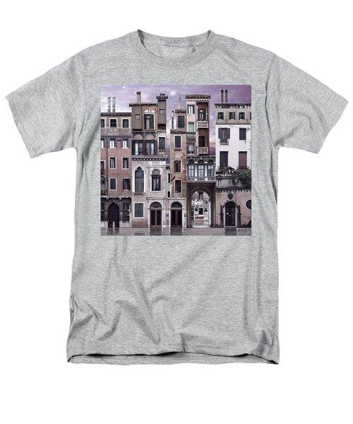 Venice Reconstruction 1 Men's T-Shirt  (Regular Fit) by Joan Ladendorf
