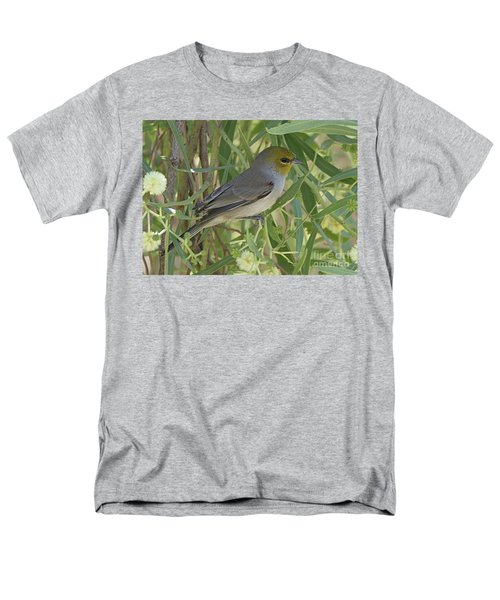 Men's T-Shirt  (Regular Fit) featuring the photograph Verdin In Tree by Anne Rodkin