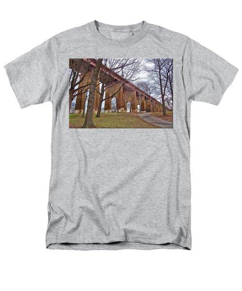 Viaduct Men's T-Shirt  (Regular Fit) by Mikki Cucuzzo