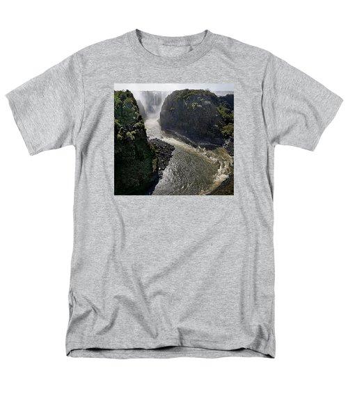 Victoria Falls Men's T-Shirt  (Regular Fit) by Joe Bonita