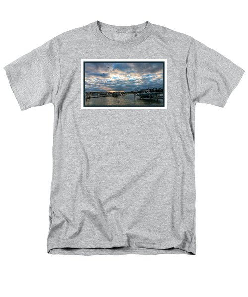 View From Marina Bay Men's T-Shirt  (Regular Fit) by Dorothy Cunningham