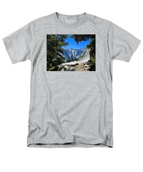 View Of The Sphinx Men's T-Shirt  (Regular Fit) by Amelia Racca