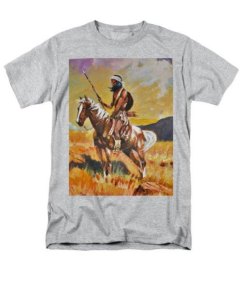 Vigilante Apache Men's T-Shirt  (Regular Fit) by Al Brown
