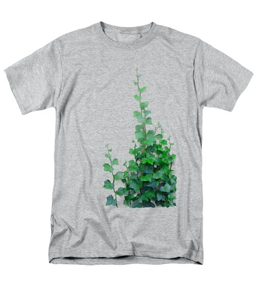 Vines By The Wall Men's T-Shirt  (Regular Fit) by Ivana