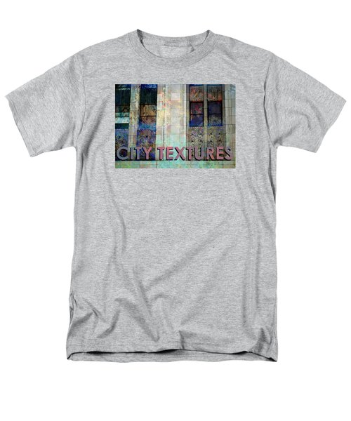 Vintage City Textures Men's T-Shirt  (Regular Fit) by John Fish