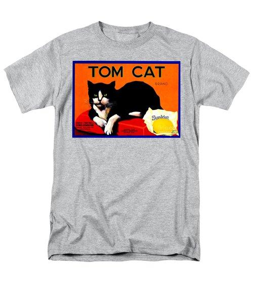 Vintage Sunkist Tom Cat Men's T-Shirt  (Regular Fit) by Peter Gumaer Ogden