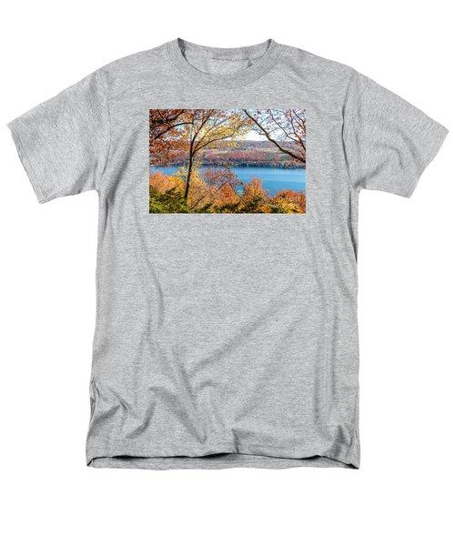 Vista From Garrett Chapel Men's T-Shirt  (Regular Fit) by William Norton