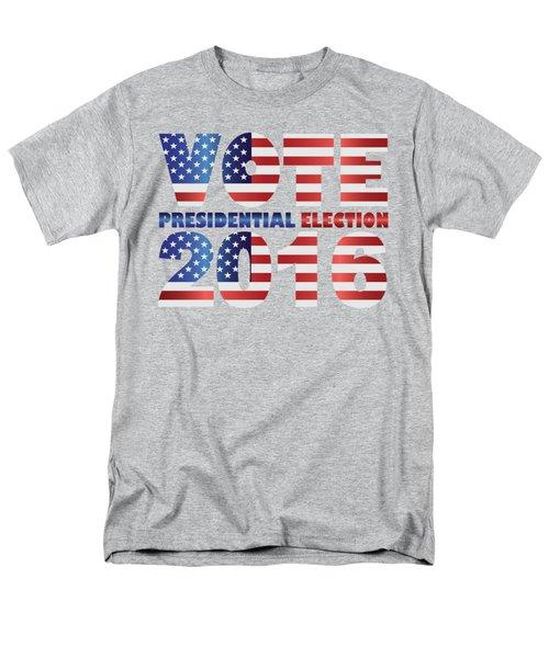 Vote 2016 Usa Presidential Election Illustration Men's T-Shirt  (Regular Fit) by Jit Lim