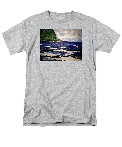 Waipio Valley  Beach Men's T-Shirt  (Regular Fit)