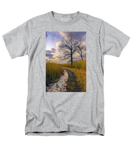 Walk With Me Men's T-Shirt  (Regular Fit) by John Rivera