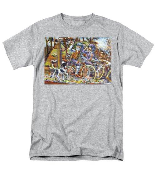 Walking The Dog 3 Men's T-Shirt  (Regular Fit)