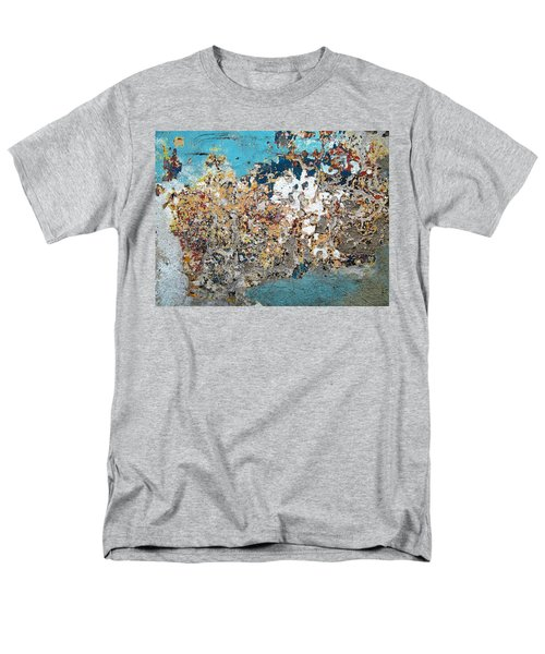 Wall Abstract 106 Men's T-Shirt  (Regular Fit) by Maria Huntley