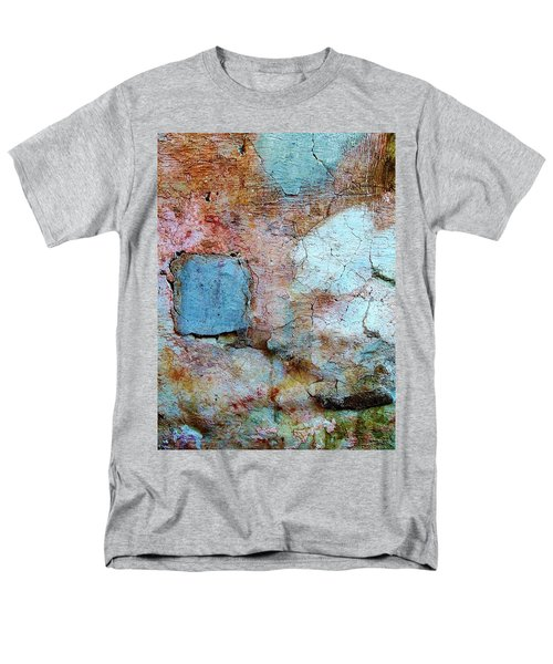 Wall Abstract 138 Men's T-Shirt  (Regular Fit) by Maria Huntley