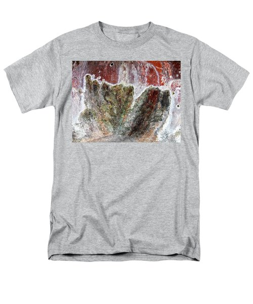 Wall Abstract 144 Men's T-Shirt  (Regular Fit) by Maria Huntley