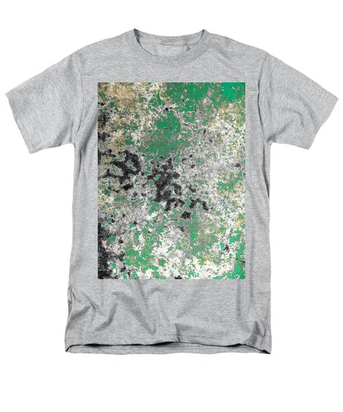Wall Abstract 160 Men's T-Shirt  (Regular Fit) by Maria Huntley