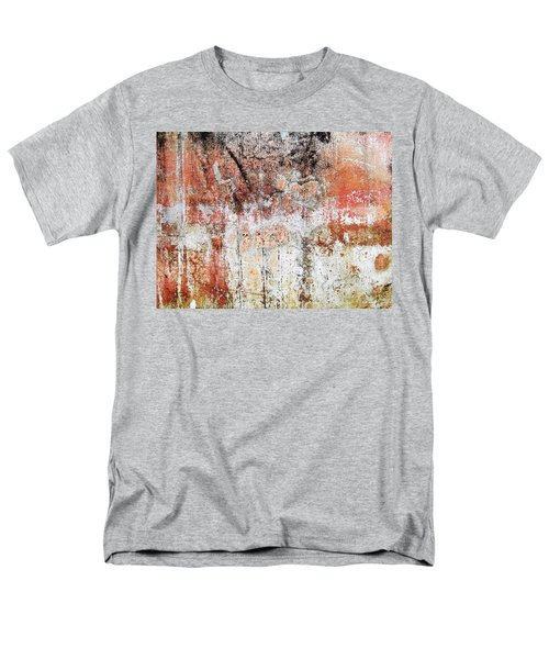 Wall Abstract  183 Men's T-Shirt  (Regular Fit) by Maria Huntley
