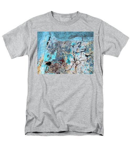 Wall Abstract 211 Men's T-Shirt  (Regular Fit) by Maria Huntley