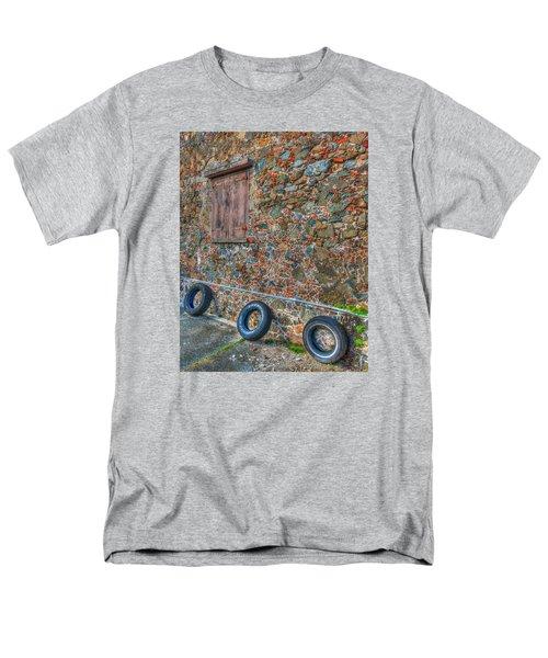 Wall Abstract Men's T-Shirt  (Regular Fit) by James Hammond
