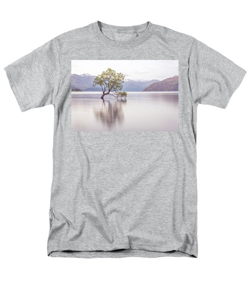 Wanaka Tree Men's T-Shirt  (Regular Fit) by Racheal Christian