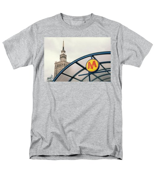 Men's T-Shirt  (Regular Fit) featuring the photograph Warsaw by Chevy Fleet