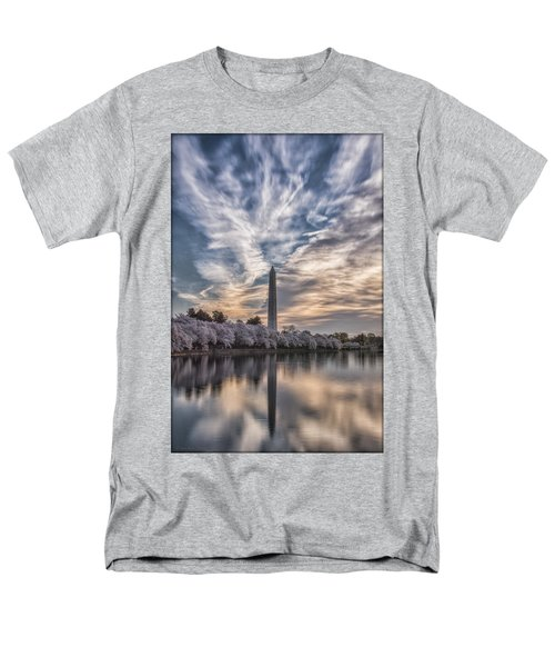 Washington Blossom Sunrise Men's T-Shirt  (Regular Fit)
