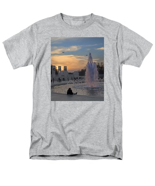 Washington Dc Rhythms  Men's T-Shirt  (Regular Fit) by Betsy Knapp